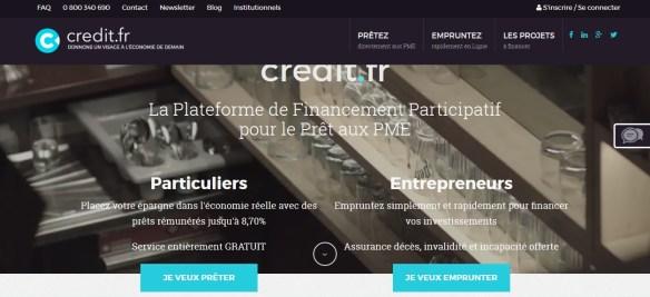 Le site crédit.fr