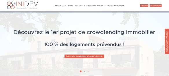 Page INIDEV d´accueil