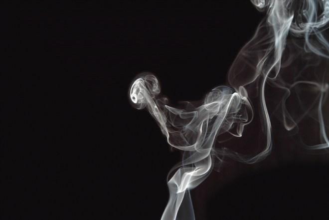 fumar fuera