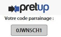 pretup-bono-patrocinio-código-promo