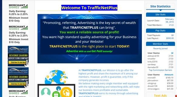 trafficnetplus arnaque