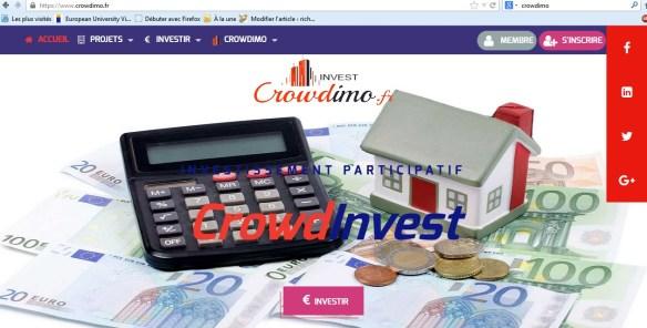 crowdimo test et avis investissement immobilier nouvelle plateforme