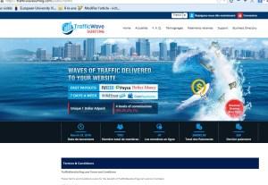 trafficwavesurfing arnaque ponzi escroquerie scam ponzi illegal 06