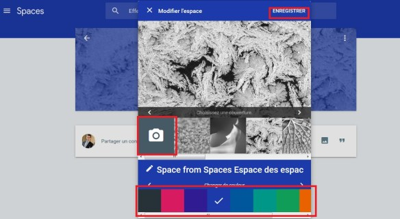 google spaces espaces mode enploi 5