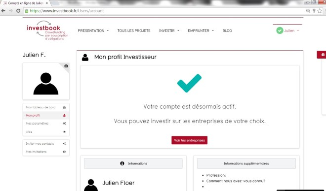 investbook-crowdfunding-crowdlending-obligation-inscription-mon-profil
