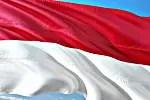 Indonesia flag (courtesy of Pixabay.com)
