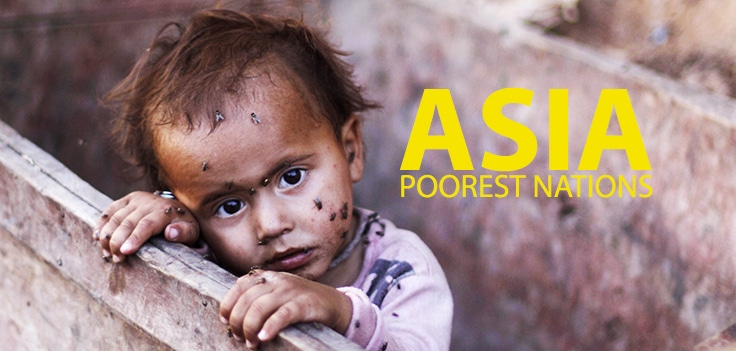 Poorest Countries In Asia By GDP Per Capita - Poorest country in asia