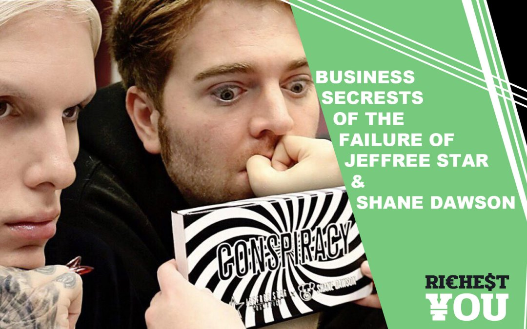 Business Secrets in Shane Dawson's series The $20 Million Dollar Deal with Jeffree Star and The Failure of Jeffree Star & Shane Dawson Episodes 4 & 5