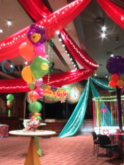 Bat mitzvah balloon