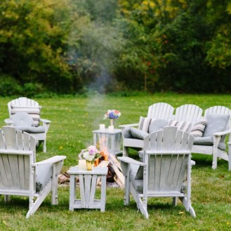 Shabby Chic lawn furniture