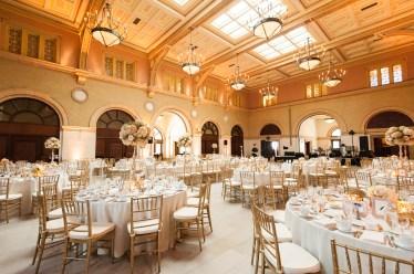 The Depot wedding decor