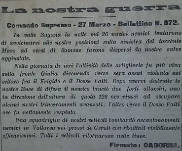 Bollettino 28-3-17