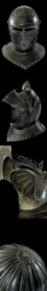 helmet of guard of king louis, 16th century