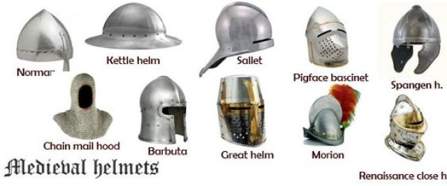 medieval-helmets-illustration