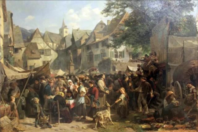 medieval peasant market