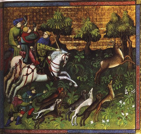 medieval lords hunting