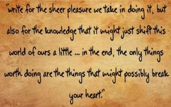 Invaluable Writing Advice: Part II
