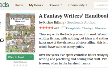 £0.99 Deal: A Fantasy Writers' Handbook