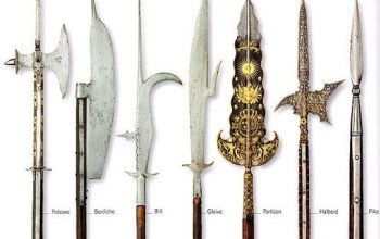 bardiche medieval weapon