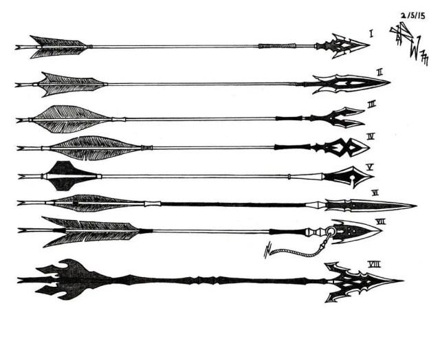 fantasy arrow concept art