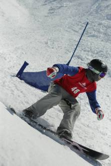 Treble Cone New Zealand, Export 33 Banked Slalom: Image - Treble Cone Ski Area