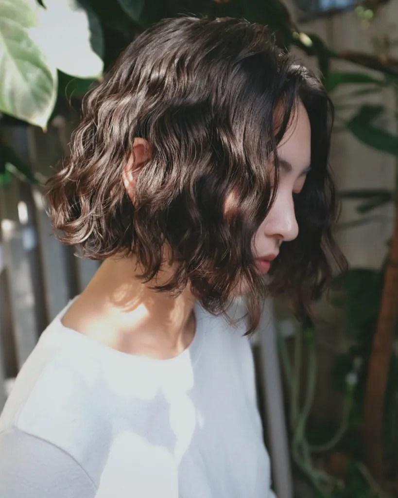 水波紋 燙髮推薦 髮廊 日青髮廊