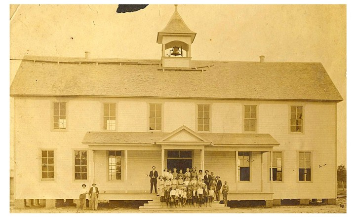 manghamschool circa 1915