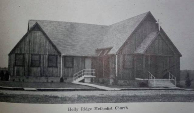 Old Holly Ridge Methodist Church