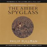 The Amber Spyglass by Philip Pullman book cover