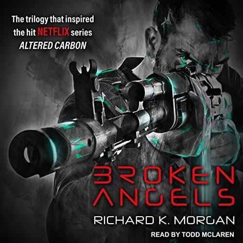 Broken Angels audiobook cover