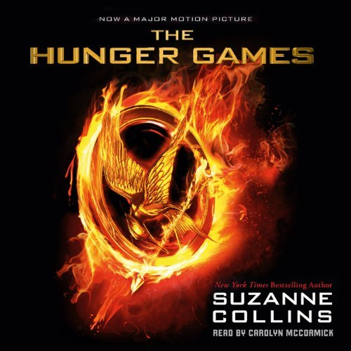 The Hunger Games audiobook cover