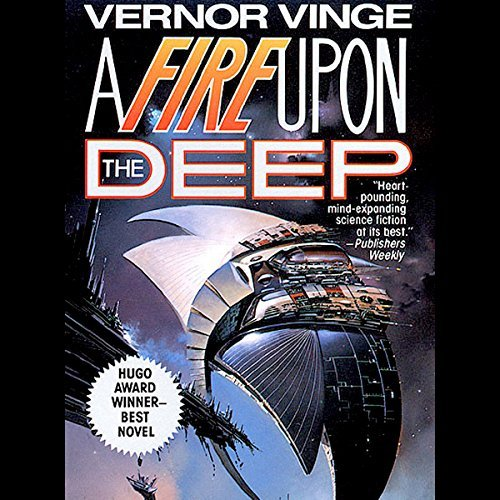 A Fire Upon the Deep audiobook cover