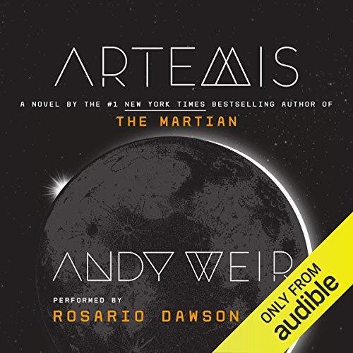 Artemis audiobook cover