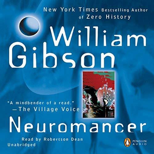 Neuromancer audiobook cover
