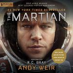 The Martian audiobook cover