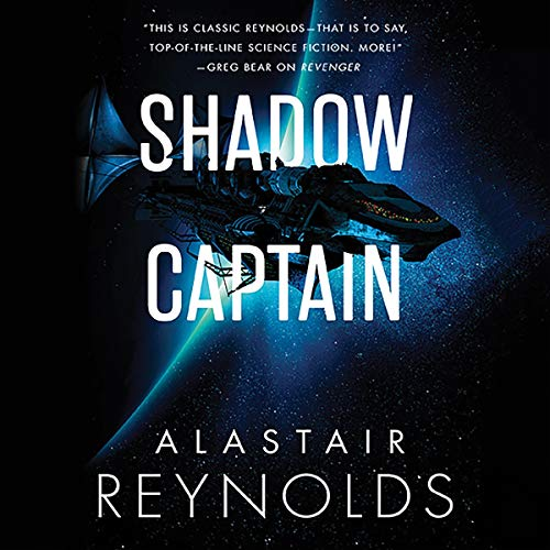 Shadow Captain audiobook cover