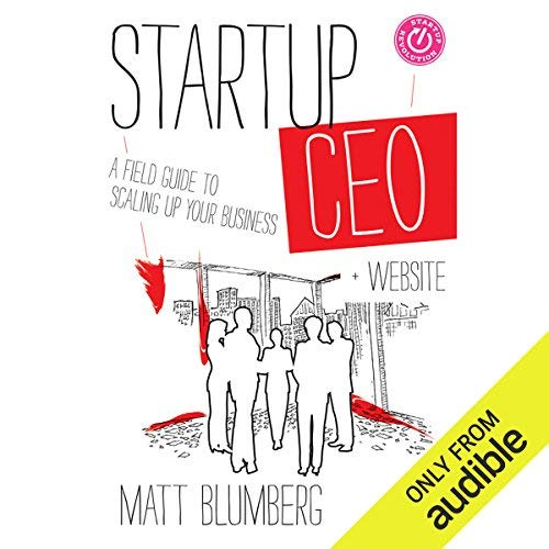 Startup CEO audiobook cover