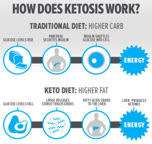 What happens to your body during ketosis?
