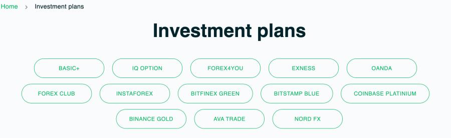 Worintion Investment Plan