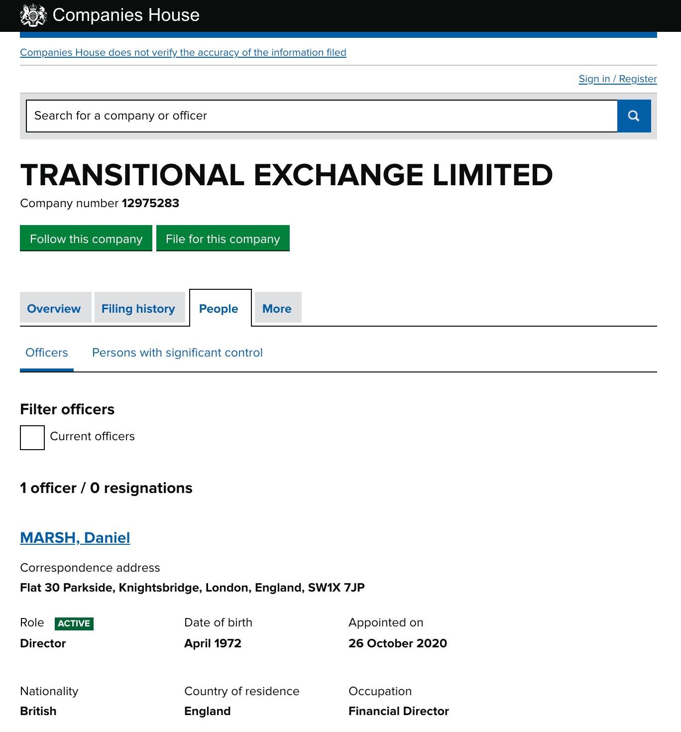 Trandex owner