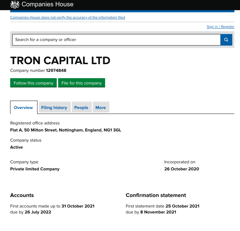 Bit Tron Registration