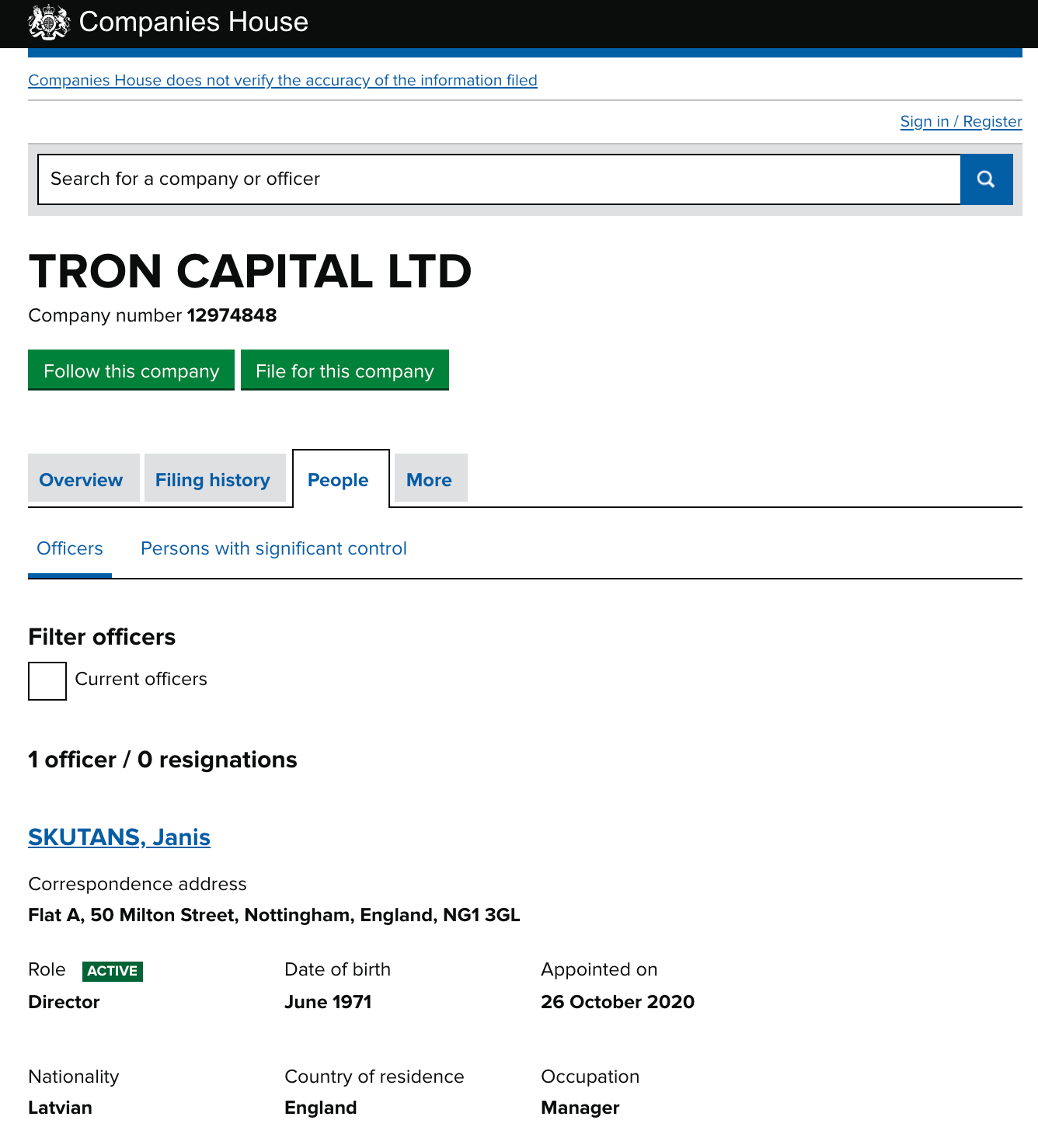 Bit Tron Owner