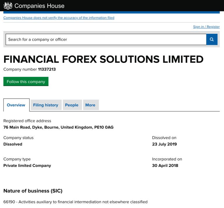 FinanceFXBond registration