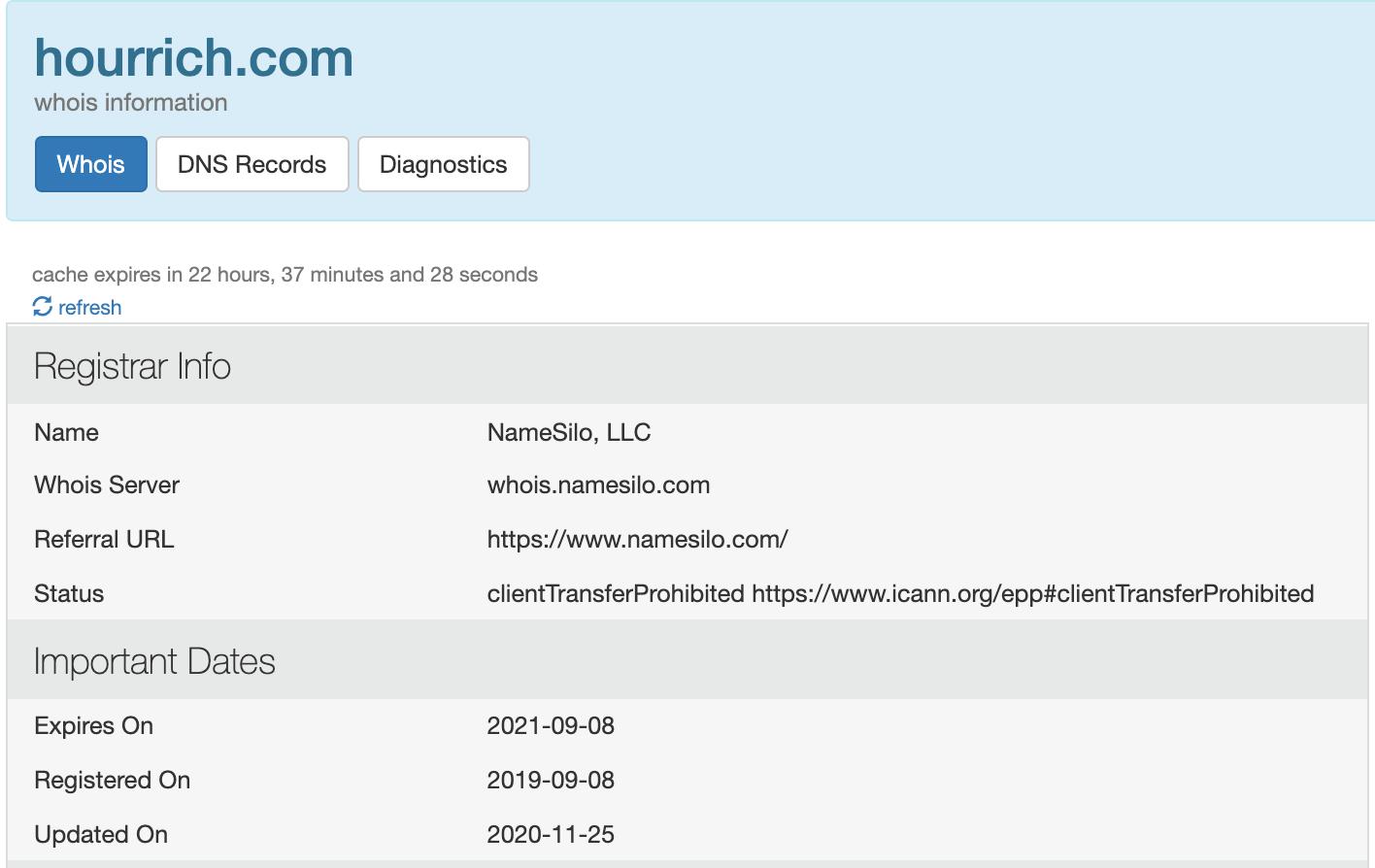 HourRich Domain