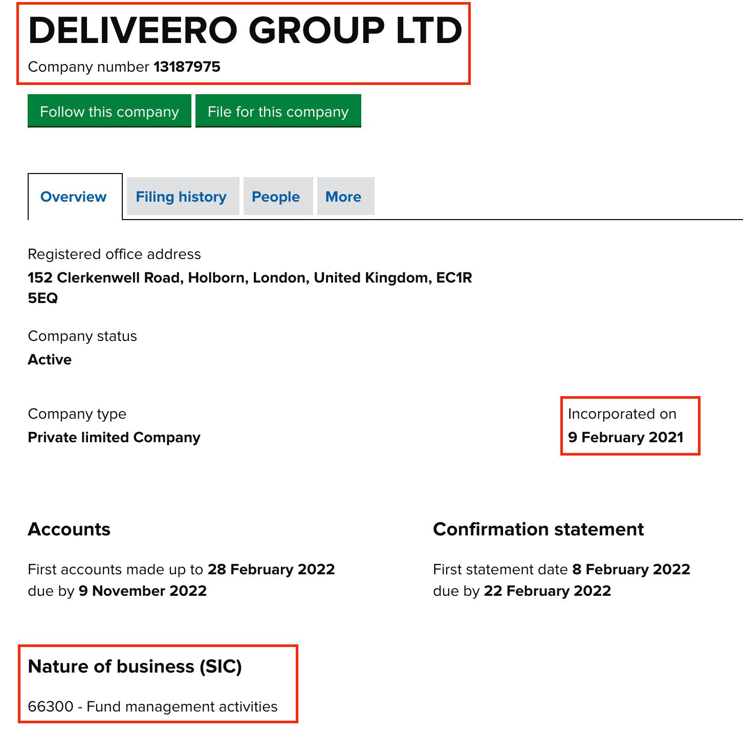 Deliveero Scam
