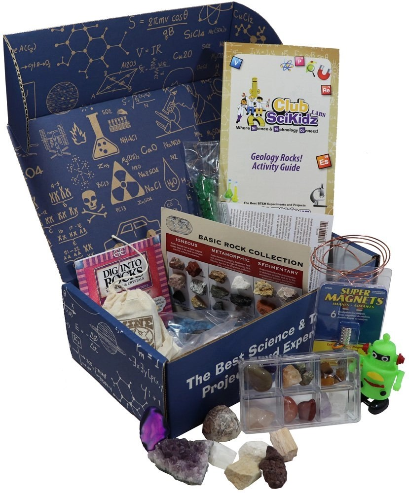 Geology Summer Camp in a Box