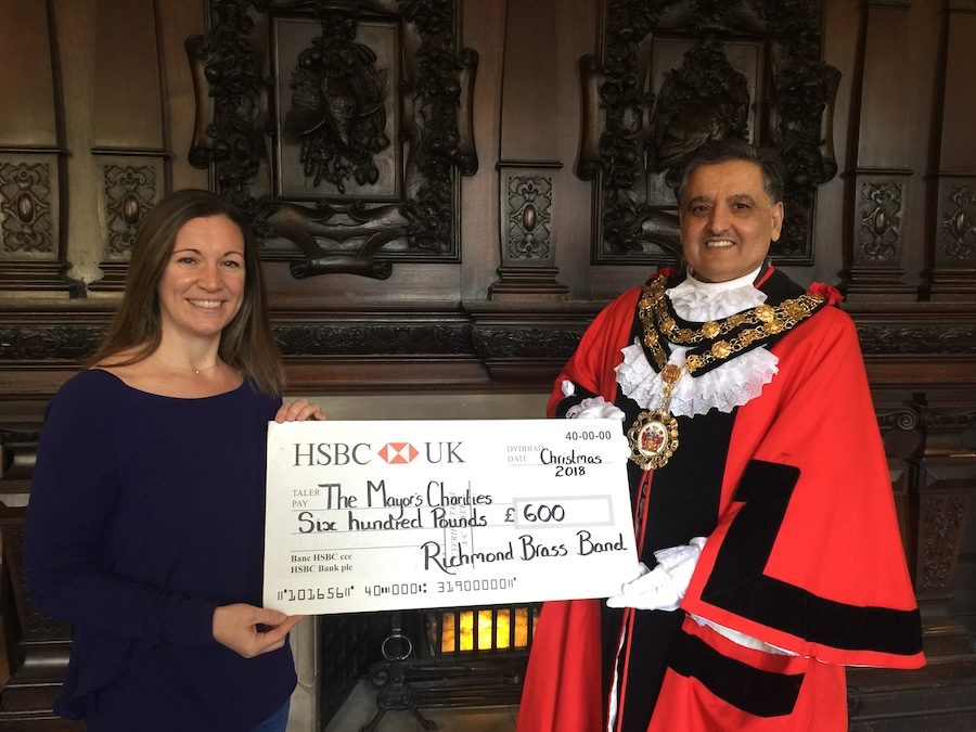 Present funds to the Mayor of Richmond Upon Thames