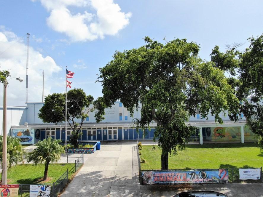 RHMS Front of School