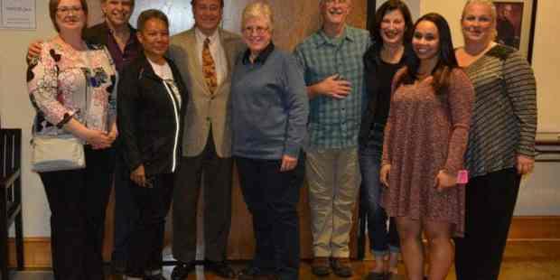 Representatives of Birmingham Pledge and Richmond Pledge meet