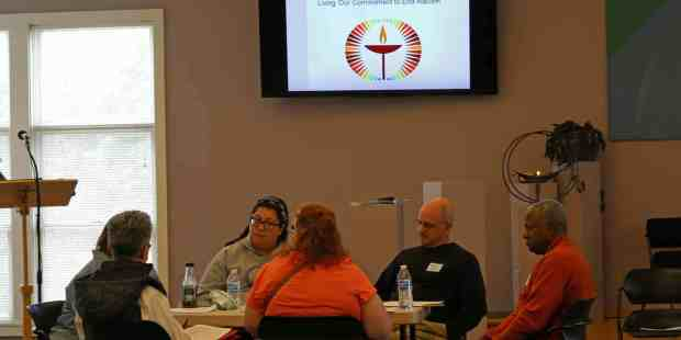 Living the Pledge workshop small group
